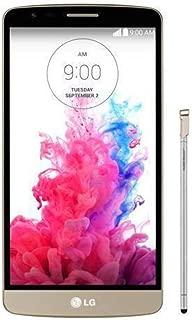 LG G3 Stylus 3G D690, Dual Sim, 8GB, Unlocked (Gold) -International Version (No Warranty)