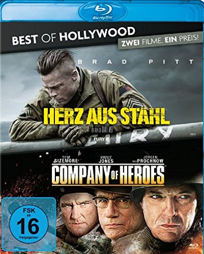 Herz aus Stahl/Company of Heroes - Best of Hollywood/2 Movie Collector's Pack 94 [Blu-ray]