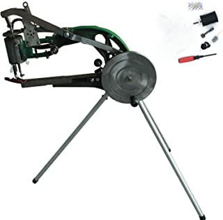 Shoe Repair Hand Sewing Machine, Shoe Cobbler Machine with Nylon Line, Manual Mending for Shoes/Bags/Clothes/Quilts/Coats/...