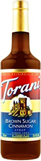 Torani Brown Sugar Cinnamon Syrup, 750 ml