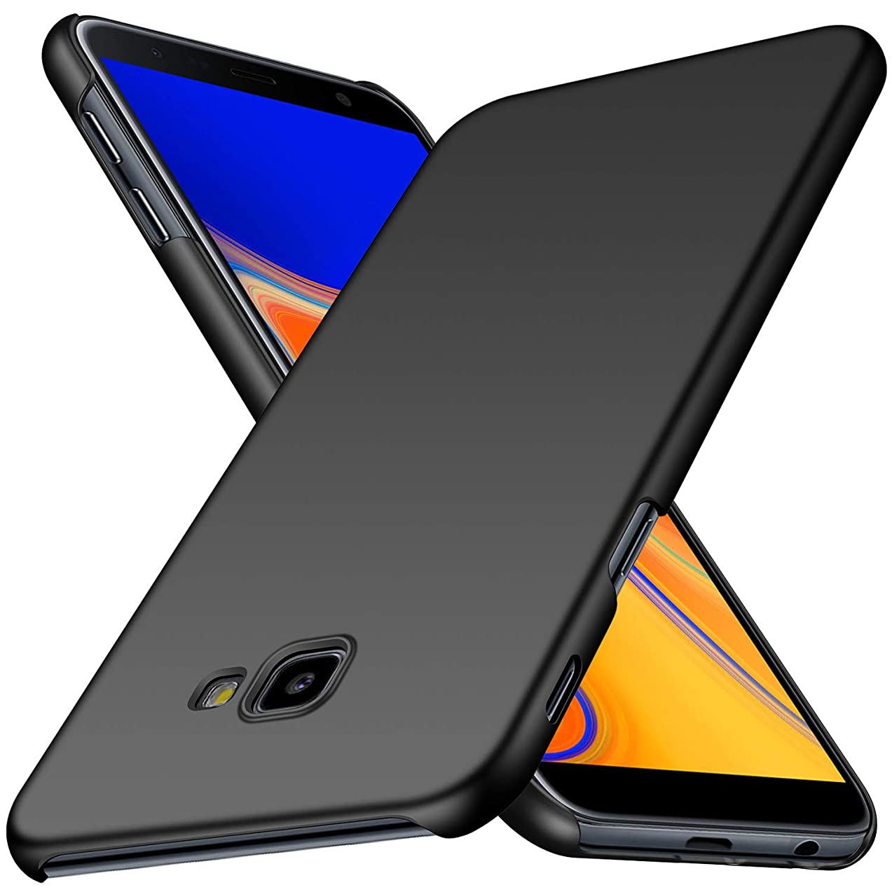 Tyedia Samsung Galaxy J4 Core Case, [Ultra-Thin] [Anti-Fall] [Seamless fit] Slim Design Ultra-Thin Cover, Extreme Touch,Advanced Material Defensive Protection Galaxy J4 Core (Black)