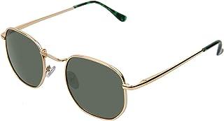 Baytion Gold Metal Frame Sunglasses, UV 400 protection Anti Eyestrain Eyeglare Blocking Sunshame, Eyewear Filter Glasses f...