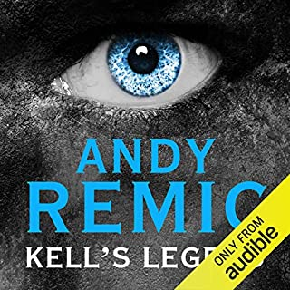 Kell's Legend audiobook cover art