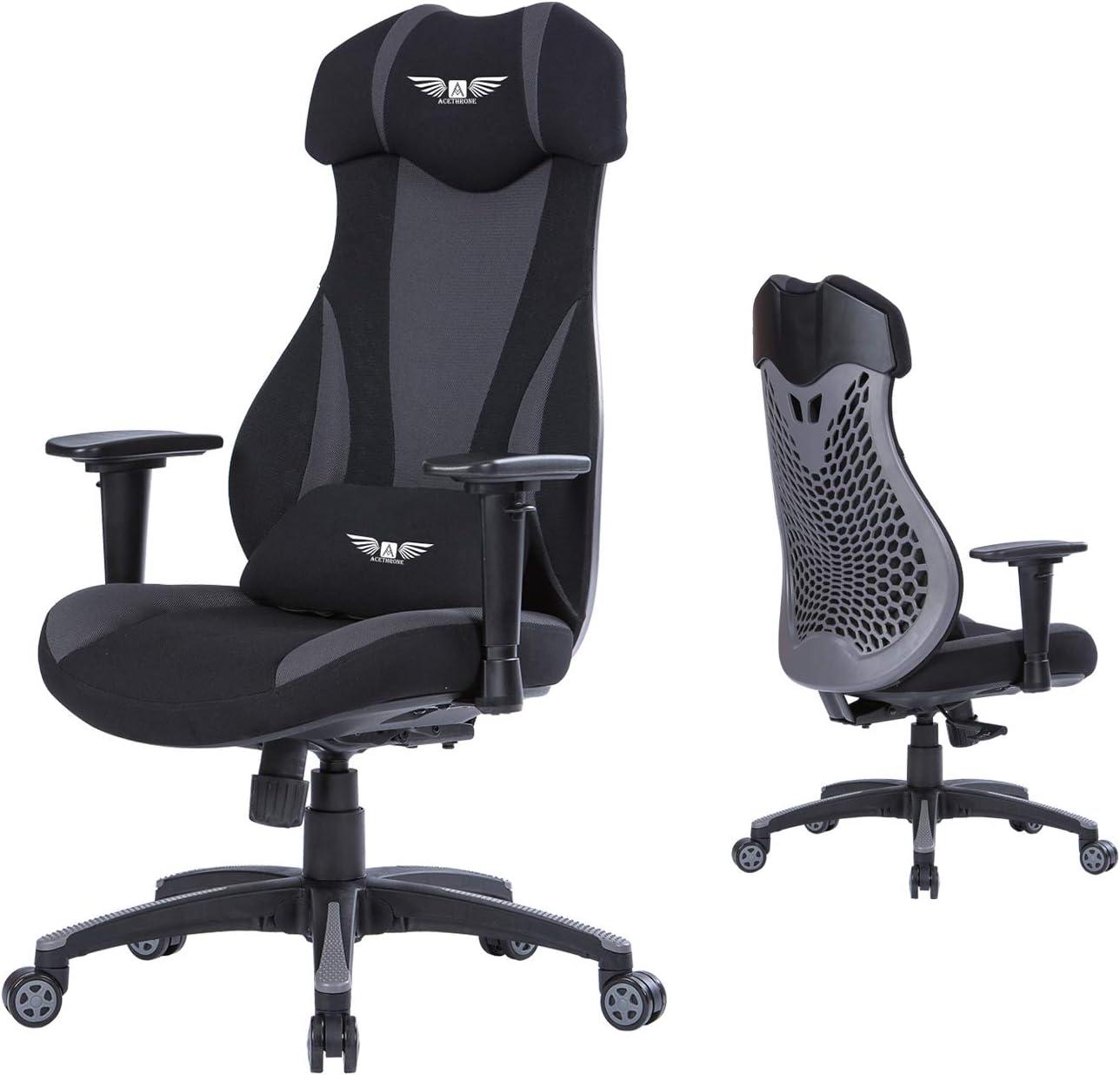 男女兼用 Acethrone Gaming 国産品 Chair Racing Chairs Back for Adults High