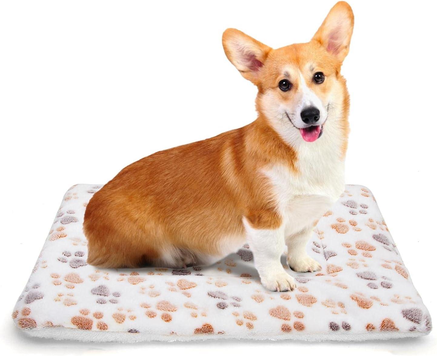 Nobleza Colchonetas para Camas para Perros, Mascotas Lavables a Mano y Lavables a Máquina Manta para Perros, Mantas Cálidas De para Gatos y Perros para Camas De Perros, Sofás 70 × 55 cm