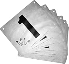 race number tags