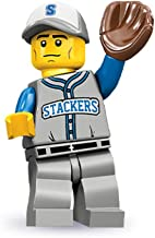 Lego Series 10 Baseball Fielder Mini Figure