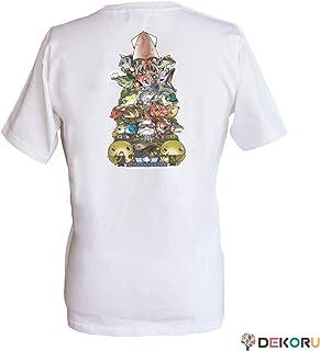 フィッシングTシャツ SAKANA☆FORCES 全メンバー バックプリント 白