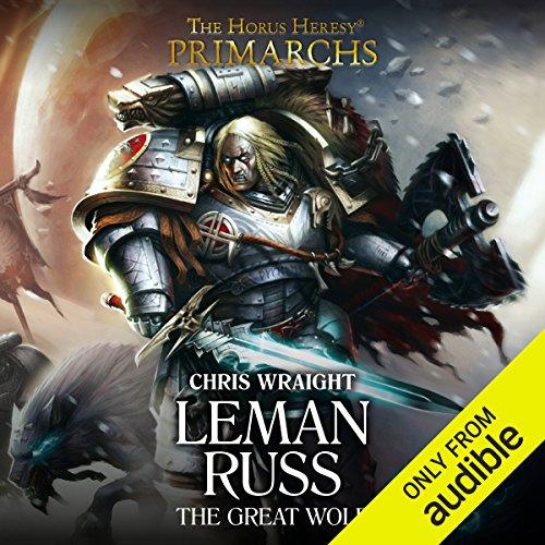 Leman Russ: The Great Wolf audiobook cover art