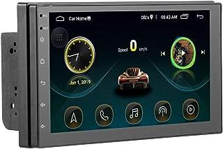 Festnight Car MP5 Player,2.5D HD TFT Touch Screen GPS Bluetooth Autoradio Car MP5 Player Car Stereo Radio with GPS WIFI FM USB+CAM