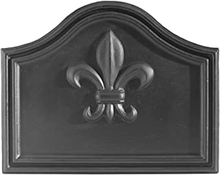 Minuteman International Fleur De Lys Cast Iron Fireback