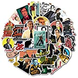 WANGPENG TV Show Stickers For Laptop Guitar Decal Skateboard Suitcase Waterproof Sticker 50 PCS/Set