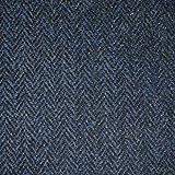 LOOME Harris Tweed Fabric, Tarbert Herringbone, 10 x 14cm