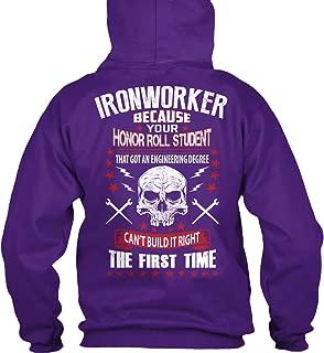 teespring Men's Ironworker. - Sweatshirt - Gildan 8Oz Heavy Blend Hoodie
