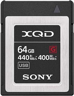 بطاقة ذاكرة سوني بروفيشنال XQD G سيريز 64 جيجابايت (QD-G64F/J)