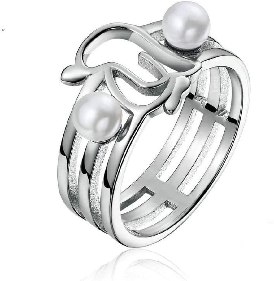 Breccaly 925 Sterling Silver Rings Cute Animal Latest item Max 74% OFF for Women Penguin