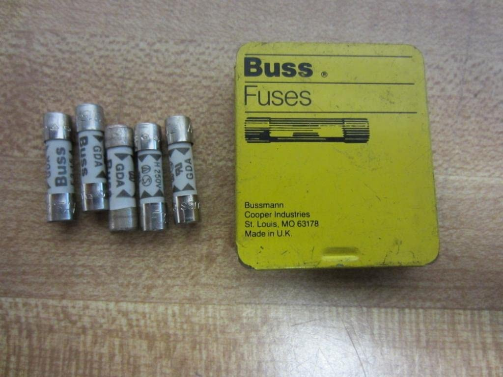 All items free shipping Bussmann GDA-3.15A Buss Fuse Our shop most popular 3.15A Pack 5 GDA315A of 250V