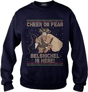Cheer Or Fear Belsnickel is Here Adult Hooded Sweatshirt
