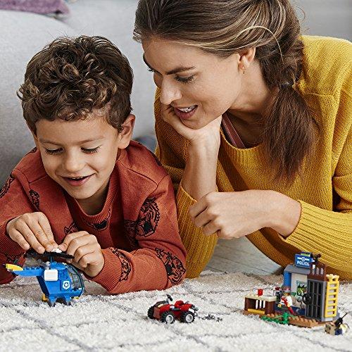 Ensemble de Construction LEGO Juniors La Poursuite Policière en Montagne (115 pièces) 10751 - 1