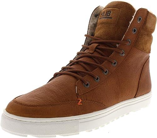 HUB Footwear - Dublin MERLINS - Cognac