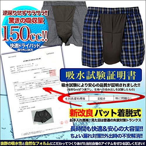 カラダ快適研究所『尿漏れパンツ脱着式』