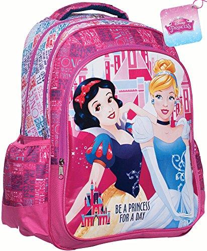 misterpeluche-it Princess - Disney Sac A Dos Cartable pour L'ECOLE 331-49031