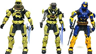 Halo Reach McFarlane Toys Action Figure 3Pack Infection Human Spartan 2x Zomb...