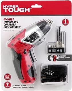 Best hyper tough 4 volt cordless screwdriver Reviews