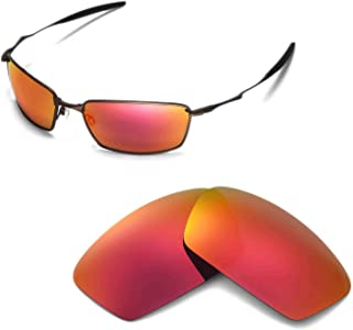 Replacement Lenses for Oakley Square Whisker Sunglasses - 8 Options Available