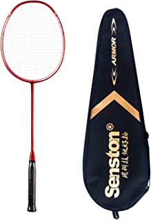 comprar comparacion Senston N80 Grafito Raqueta de Bádminton,Badminton Racket de Fibra Carbono