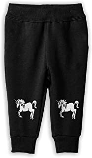 Rainbowhug Unicorn Animal Unisex Children Sweatpants Boys Unique Soft Cozy Trousers for Kids