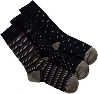 Pack of 3 pairs short socks man tripack EMPORIO ARMANI item 302402 9A282