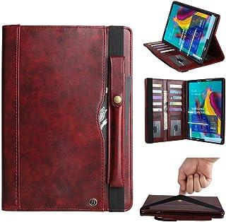 Estuche para el Galaxy Tab 10.5 '', Estuche Portátil con Ranura para Tarjetas con Soporte para Lápices, Funda Protectora U...