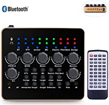KOKITEA Voice Changer, Live Sound Card for PS4/Xbox/Phone/iPad/Computer ( Self-contained Remote Control ), Sound Card with Multiple Funny Sound Effect, for Recording YouTube LiveMe Facebook Anchor