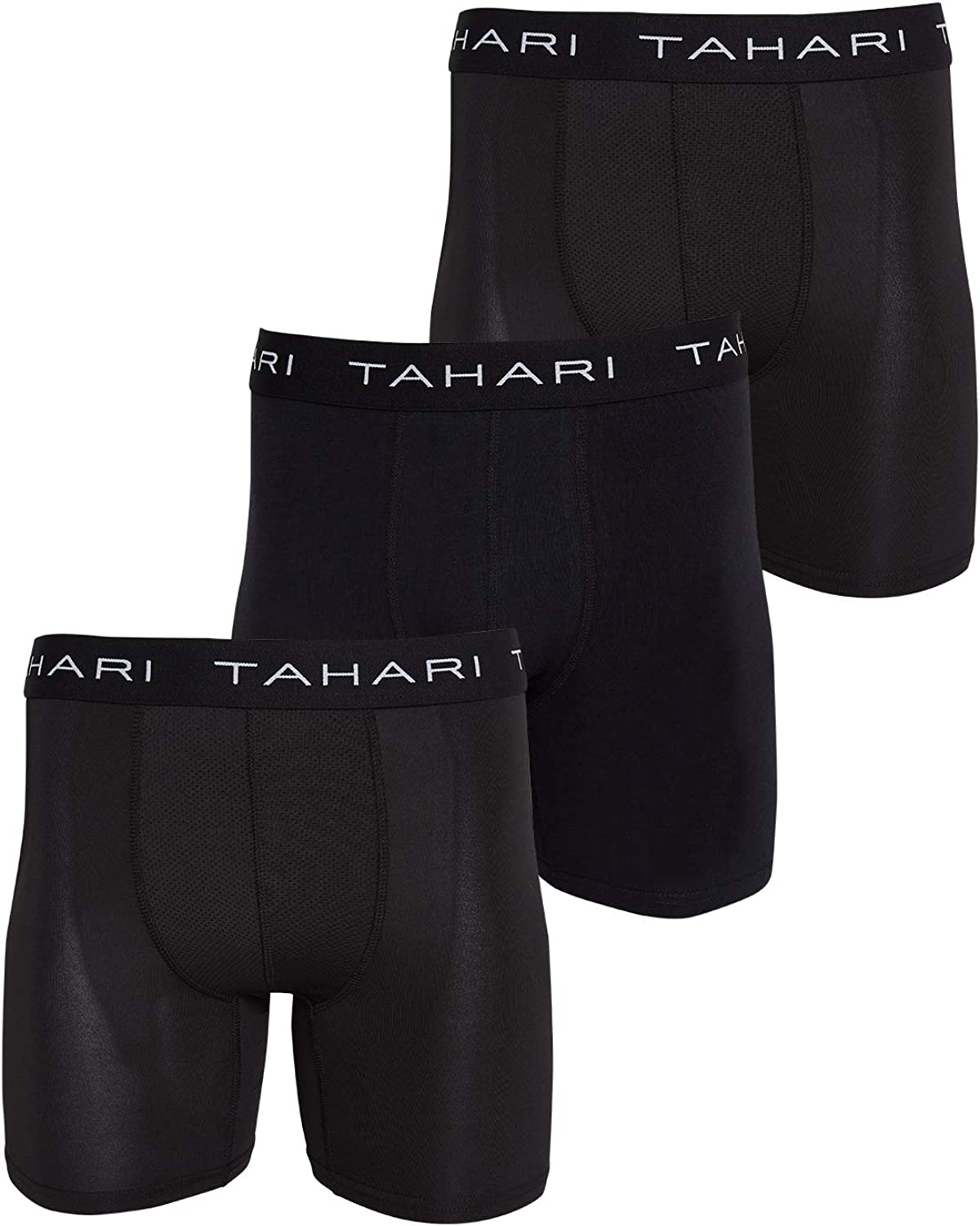 Tahari Mens Athletic Performance Boxer Brief Multi Pack Available in S,M,L,XL
