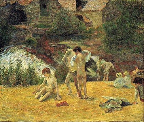 Paul Gauguin - On The Field - Large - Semi Gloss Print