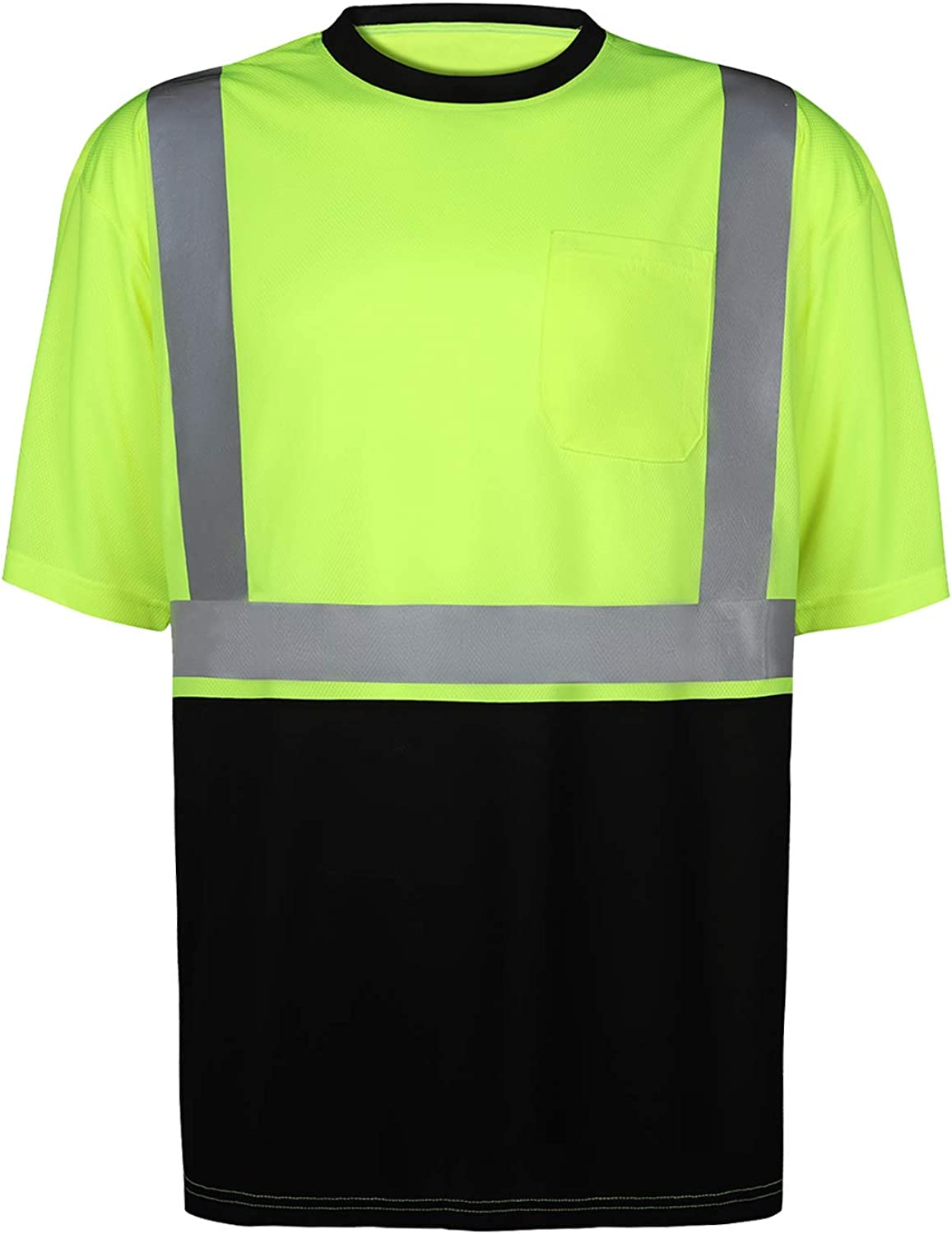 DFTD High-Visibility Class 2 T Moisture Cheap SALE Challenge the lowest price Start with Mesh Shirt Wicking