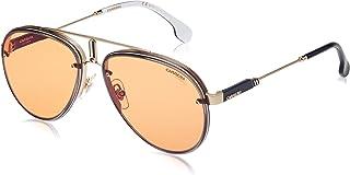 Carrera Glory Aviator Sunglasses, Gold & Orange, 17 mm