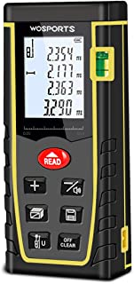 WOSPORTS Laser Measure, 196ft Laser Distance Meter with...