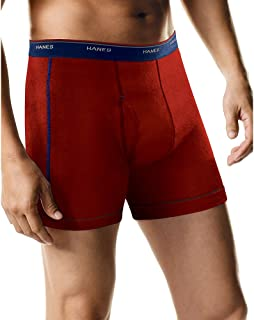 Hanes Men's Tagless Boxer Briefs with Comfort Flex Waistband, Multipack