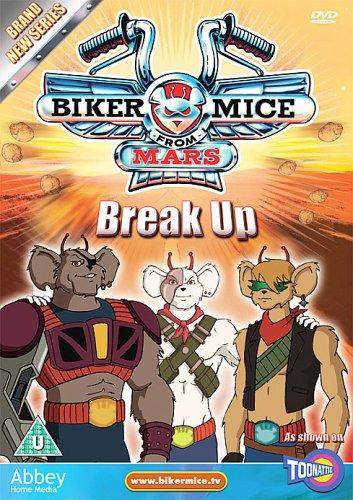 Biker Mice From Mars - Break Up [Reino Unido] [DVD]