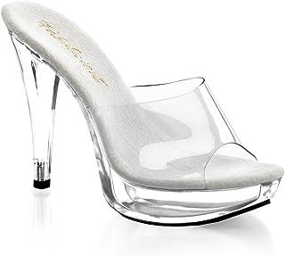 60af40d3d7c Amazon.com  Clear - Slides   Sandals  Clothing