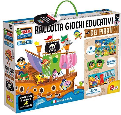 Lisciani Giochi - Giocare Educare Il Veliero dei Pirati Gioca e Impara Kit Gioco per Bambini, 72743