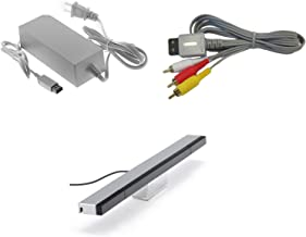 Wii Parts Bundle - Sensor Bar, AV Cable, and Power Adapter - by Mars Devices photo