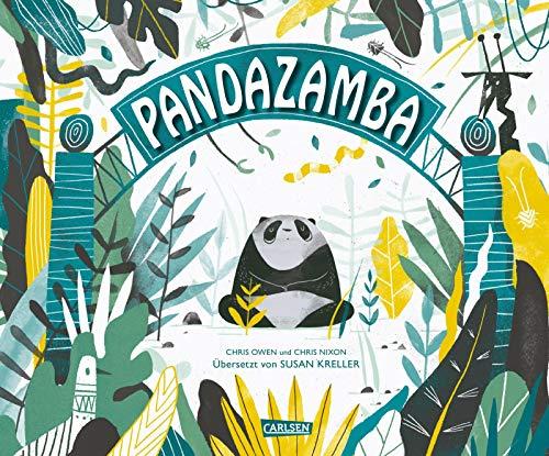 Pandazamba: Bilderbuch mit Tieren und Reimen für Kinder ab 3