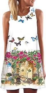 Foowni Fashion Womens Crochet Lace Backless Mini Slip Dress Camisole Sleeveless Dress