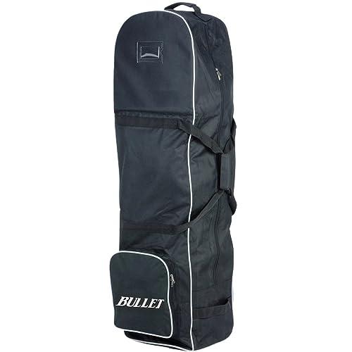 33ebc0f988 New Lightweight Padded Black Bullet Deluxe Padded Golf Bag Flight Travel  Holiday Cover Wheeled Shoe Case
