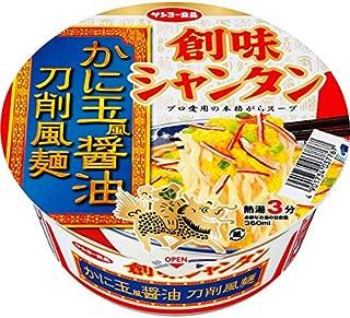創味シャンタン かに玉風醤油 刀削風麺 85g×12個入り (1ケース)