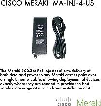 802.3at PoE+ Injector for All Cisco Meraki Access Points - MR12, MR16, MR18, MR24, MR26, MR32, MR34, MR62, MR66 & MR72