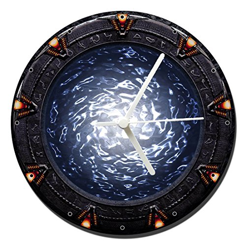 MasTazas Stargate SG-1 SG1 A Wanduhren Wall Clock 20cm